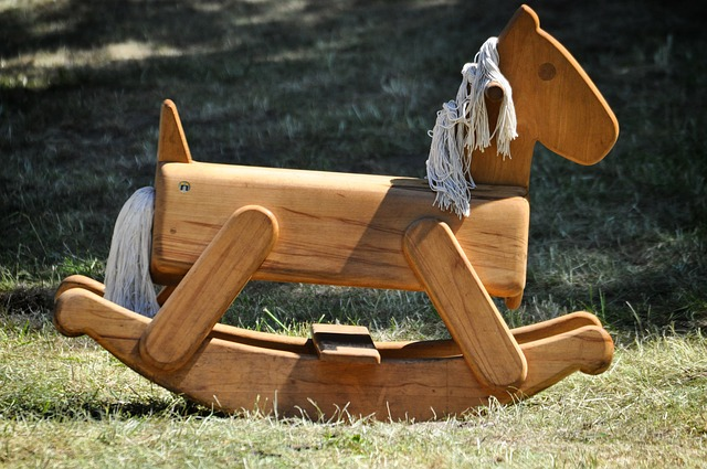 wooden rocking horse projects