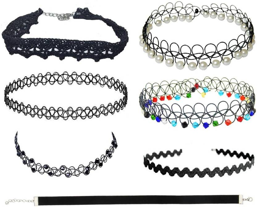 different kinds of chokers