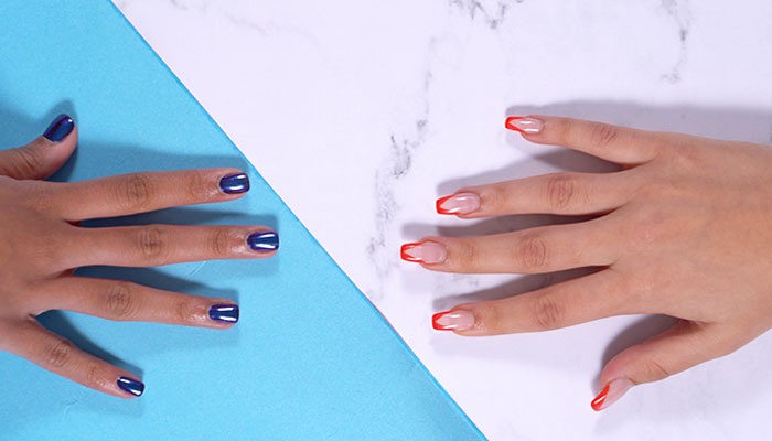 What are overlay nails?
